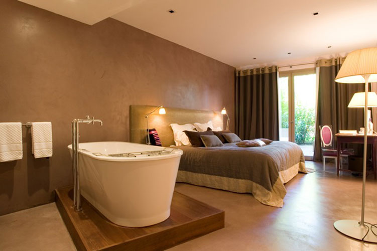 Salle de bains d'hôtel : Côté Sable