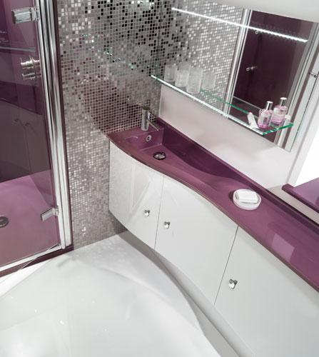 dix id es pour petites salles de bains inspiration bain. Black Bedroom Furniture Sets. Home Design Ideas