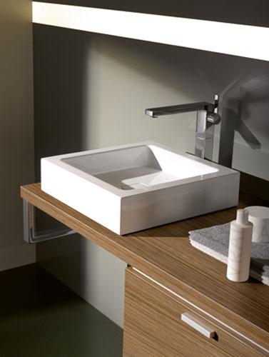 plan de toilette bois