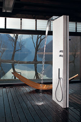 la douche hydromassante pour se d tendre inspiration bain. Black Bedroom Furniture Sets. Home Design Ideas