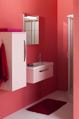 Dix id es pour petites salles de bains inspiration bain - Meuble gain de place salle de bain ...
