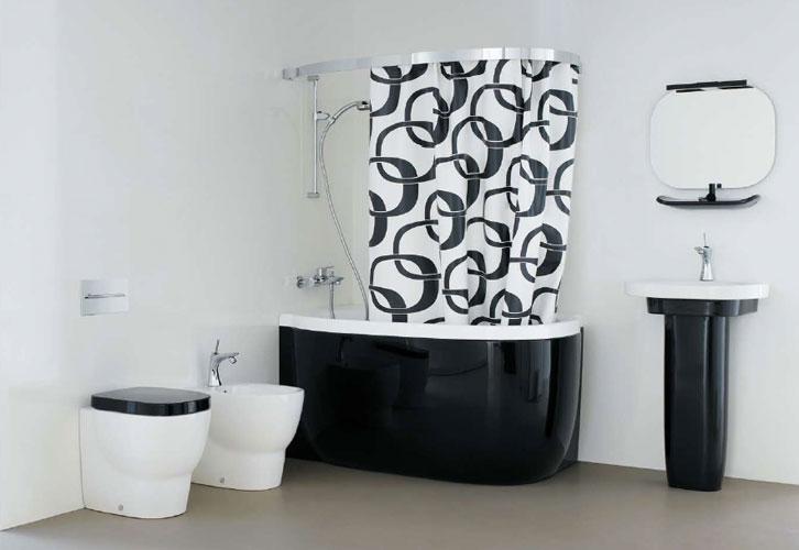 Dix id es pour petites salles de bains inspiration bain for Baignoires petites dimensions
