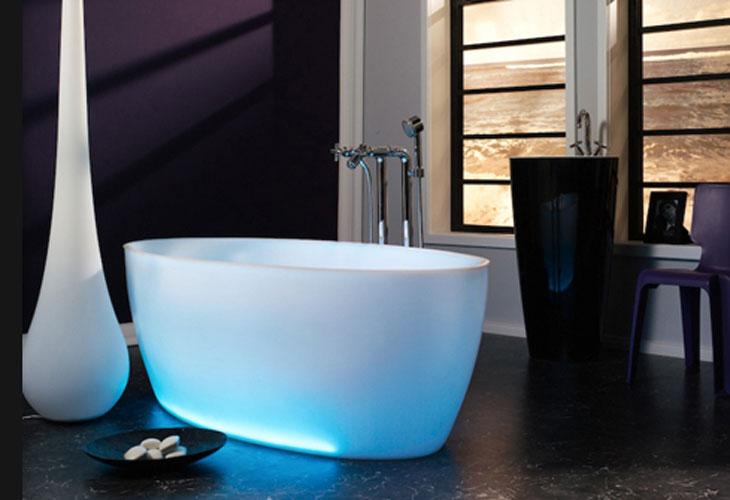Aquamass-baignoire couleur