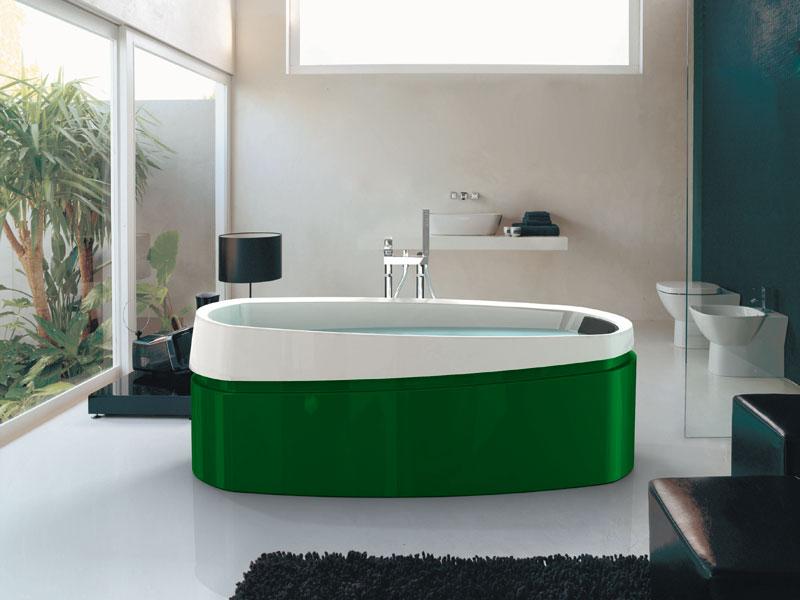 Jacuzzi-baignoire couleur