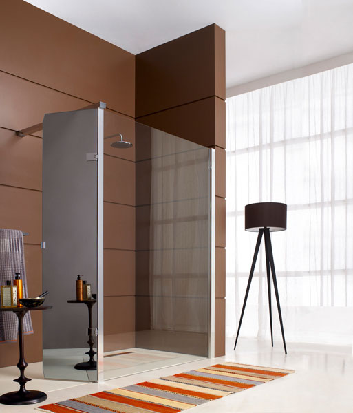la douche ouverte design et chic inspiration bain. Black Bedroom Furniture Sets. Home Design Ideas
