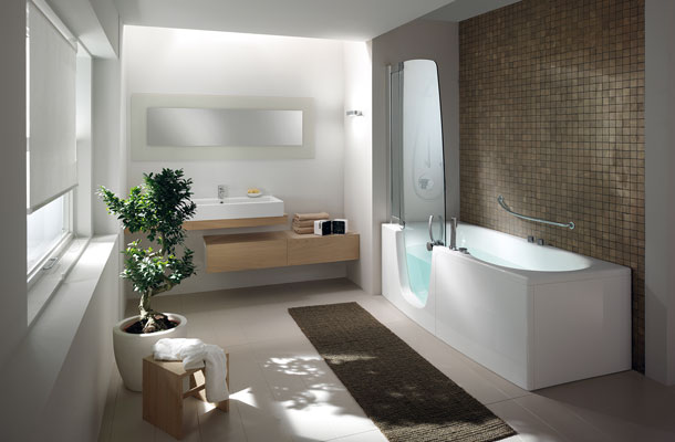 383 et 385 de Teuco-baignoire douche