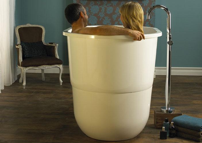 une baignoire japonaise | inspiration bain - Salle De Bain Japonaise Traditionnelle