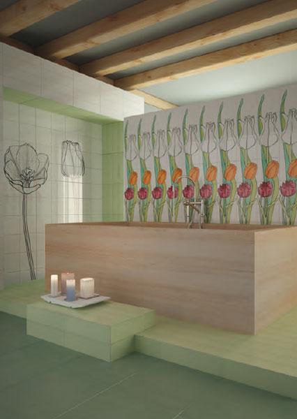 Ceramica Bardelli-murs de salle de bains- carrelage