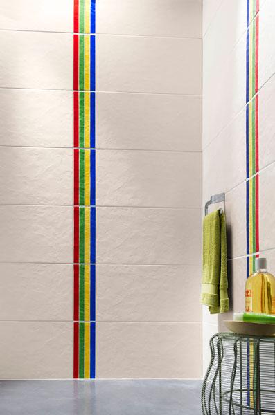 White et Cromatic de Lapeyre-carrelage de salle de bains