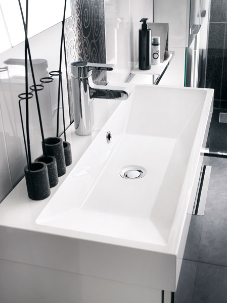 le matériau de synthèse : idéal pour la salle de bains ... - Vasque Rectangulaire Salle De Bain