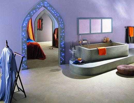 Mon beau béton-salle de bains orientale