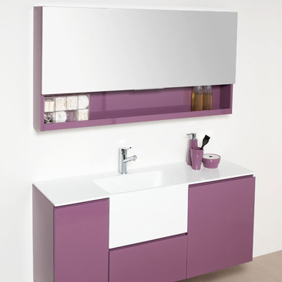 un meuble de salle de bains composer inspiration bain. Black Bedroom Furniture Sets. Home Design Ideas