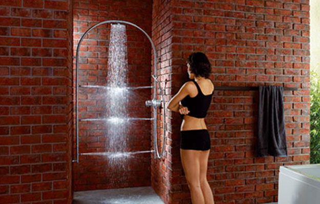 Shower Arc d'Hansgrohe-douche hydro