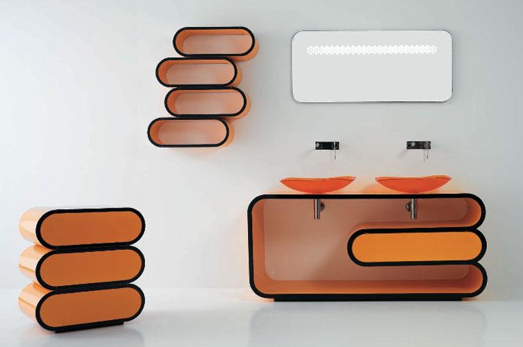 Onda d'Il Bagni Bandini-salle de bains design