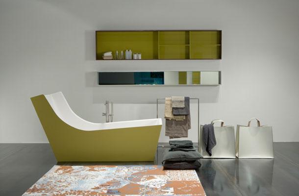 Des baignoires de toutes les couleurs inspiration bain - Baignoire de couleur ...