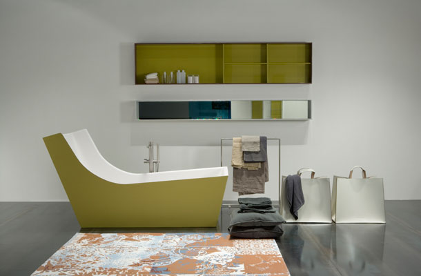 Antonio Lupi-baignoire couleur