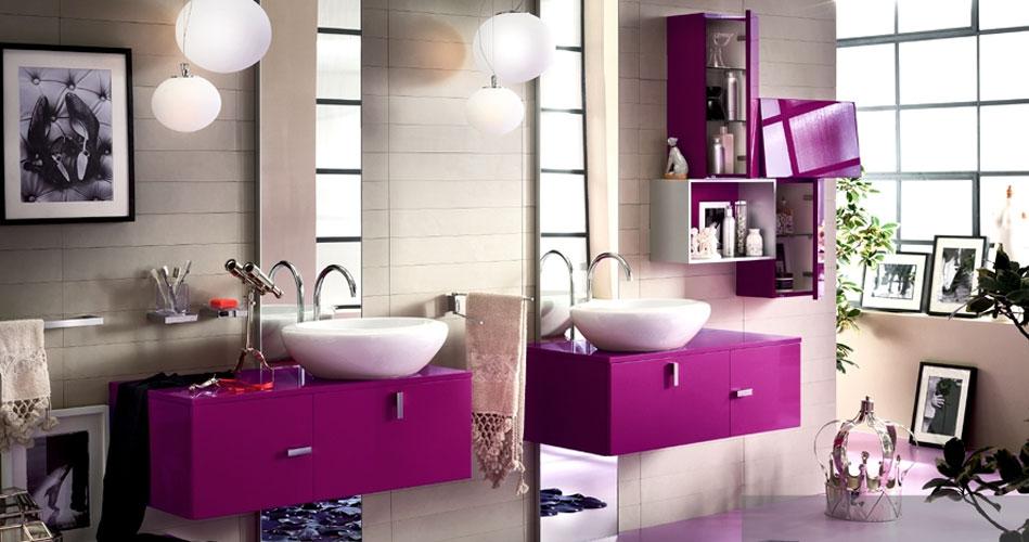 Inda-salle de bains rose