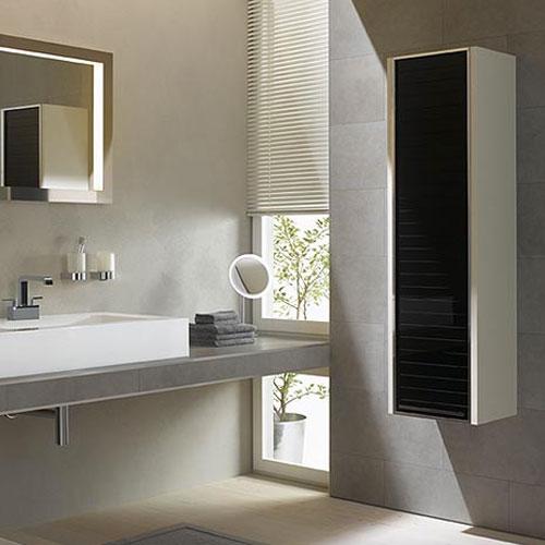 Colonne salle de bain gain de place salle de bains - Meuble gain de place salle de bain ...