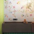 Les murs de salles de bains donnent le ton