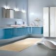 Inspiration : une salle de bains bleue