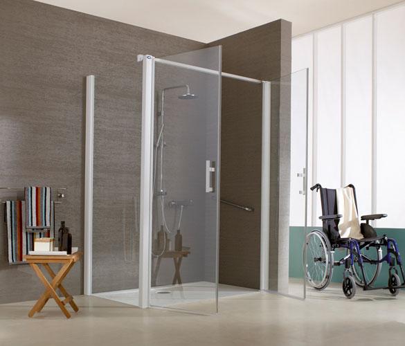 Porte handicap gascity for for Salle de bain handicape