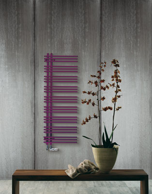 Zendher-salle de bains violette