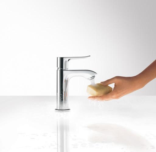 Robinet Metris d'Hansgrohe, robinet de salle de bains