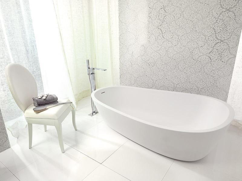 Le krion le solid surface de porcelanosa inspiration bain for Robinetterie porcelanosa