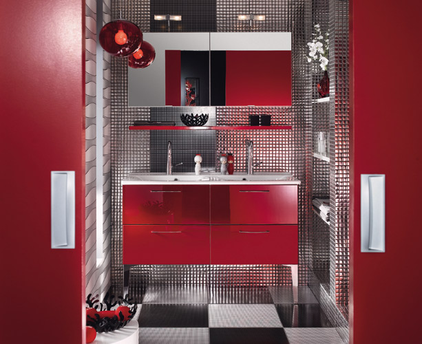 meuble salle de bain brossette