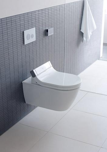 sensowash le wc douche de philippe starck pour duravit inspiration bain. Black Bedroom Furniture Sets. Home Design Ideas