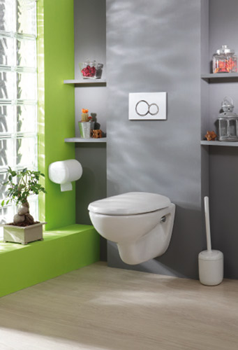 Le wc silencieux de dubourgel inspiration bain for Idee deco toilettes photos nanterre
