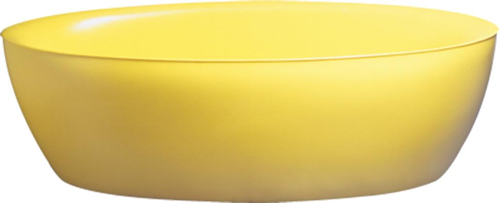 Salle de bains jaune : Aquamass