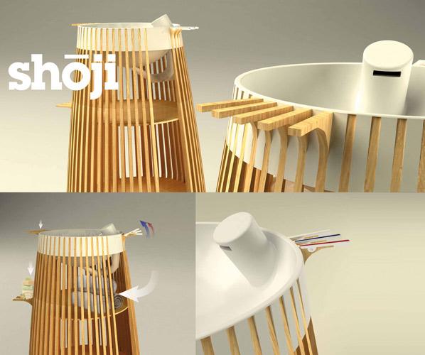 Decotec : le projet « Shoji » de Kevin Garcia
