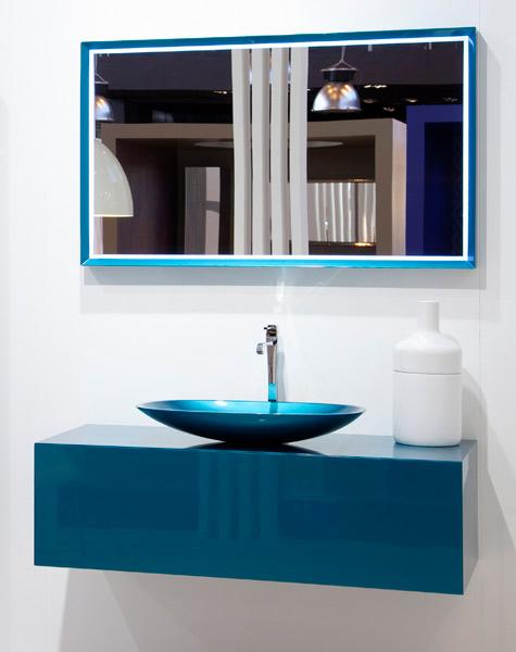 meuble salle de bain bleu turquoise salle de bains bleue - Meuble Salle De Bain Bleu