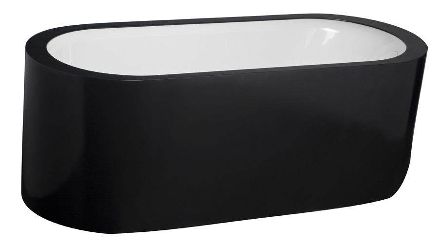 Salle de bains noire : Aquamass