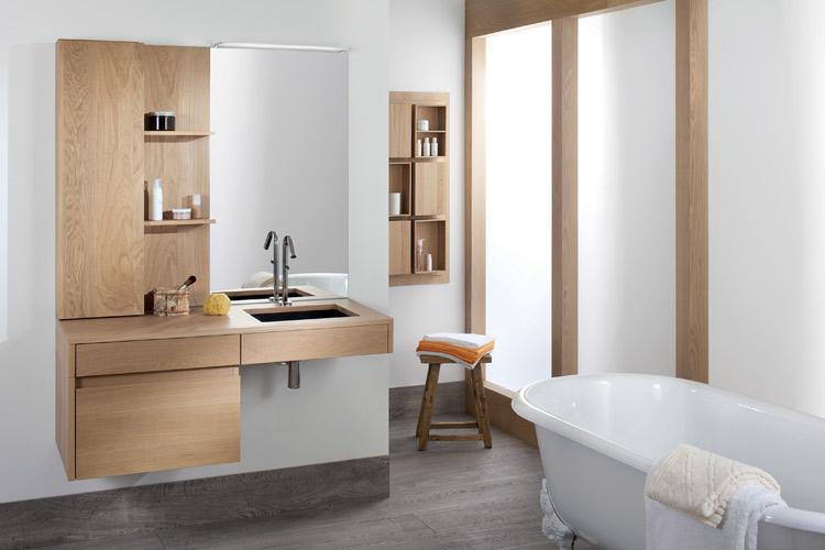 Salle De Bain Blanc Pas Cher: Meuble salle de bain design pas cher ...