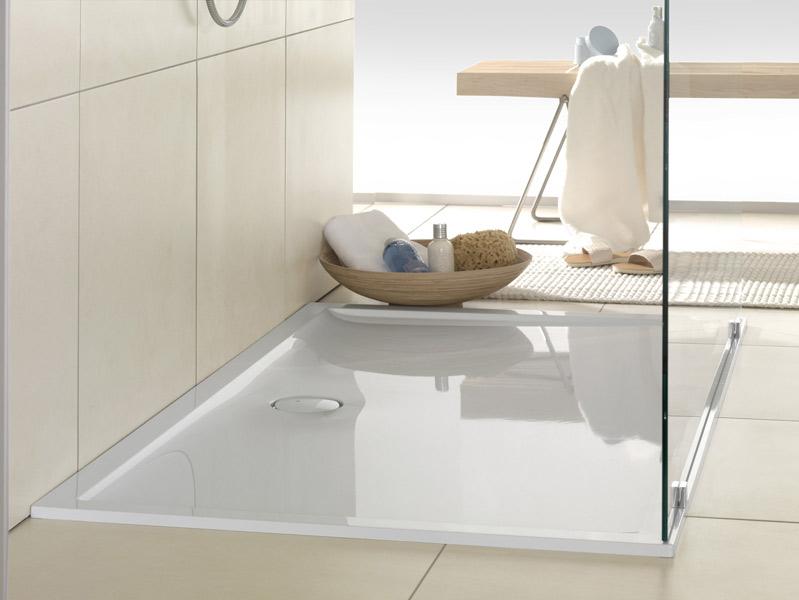 Le receveur ultra plat de villeroy boch inspiration bain - Villeroy et boch salle de bains ...