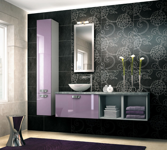 salle de bain mobalpa. Black Bedroom Furniture Sets. Home Design Ideas