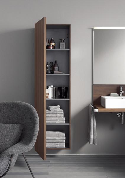 des colonnes de rangements pour la salle de bains | inspiration bain