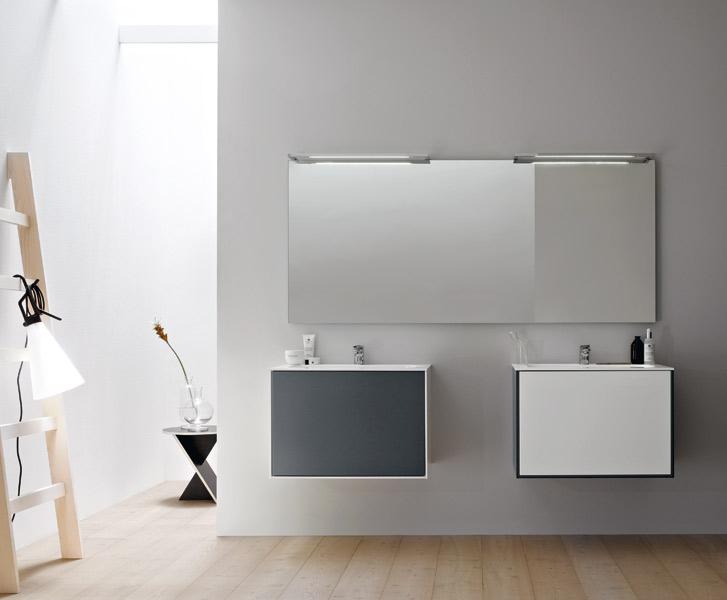 Meuble de salle de bains : Linea_09 de Stocco