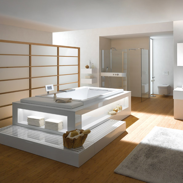 la salle de bains technologique de toto inspiration bain. Black Bedroom Furniture Sets. Home Design Ideas
