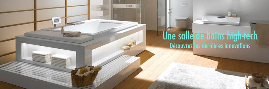 Geberit inspiration bain for Miroir salle de bain high tech