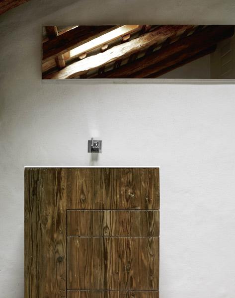 le bois dans la salle de bains avec milldue inspiration bain. Black Bedroom Furniture Sets. Home Design Ideas