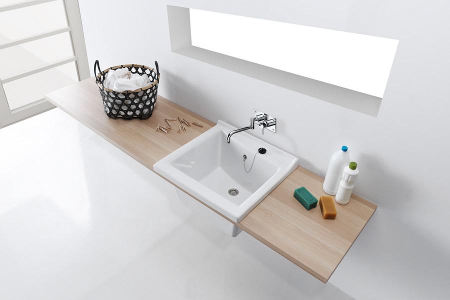le lavage la main version design de sanindusa inspiration bain. Black Bedroom Furniture Sets. Home Design Ideas