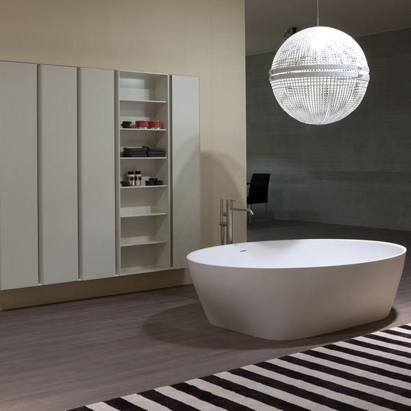 Une salle de bains en cristalplant inspiration bain - Inspiration salle de bain ...