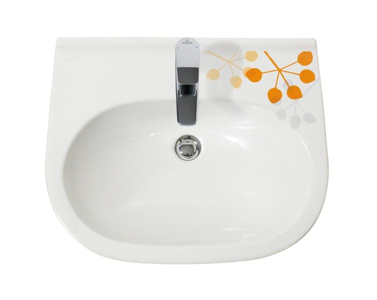 Salle de bains sixties : Villeroy & Boch