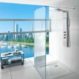 Les trois nouvelles colonnes de douche hydromassage de Roca