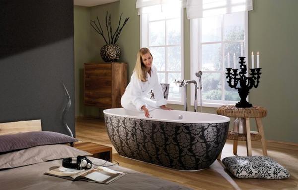 Donner un style baroque une salle de bains inspiration - Inspiration salle de bain ...