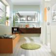 Comment agencer une salle de bains en longueur