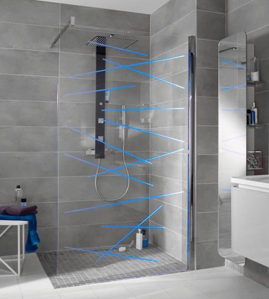 d fil de parois de douche inspiration bain. Black Bedroom Furniture Sets. Home Design Ideas